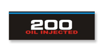 Mercury 200 oil injected decal
