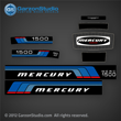 Mercury 150 hp decal sets Set of decals for 1976 motors 1500
