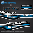 1999 2000 2001 Mercury 225 hp EFI Bluewater  decal set 809687A99