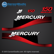 1999 2000 2001 2002 2003 2004 MERCURY 150 hp decal set red efi fourstroke optimax