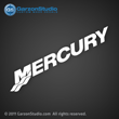 Mercury logo decal