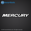 2005 2006 mercury rear decal black white