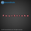 Mercury FourStroke Decal