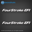 05 06 07 2005 2006 2007 Mercury FourStroke EFI decal set decals