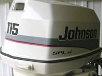 Johnson 115 SPL outboard decals   MercuryDecals com